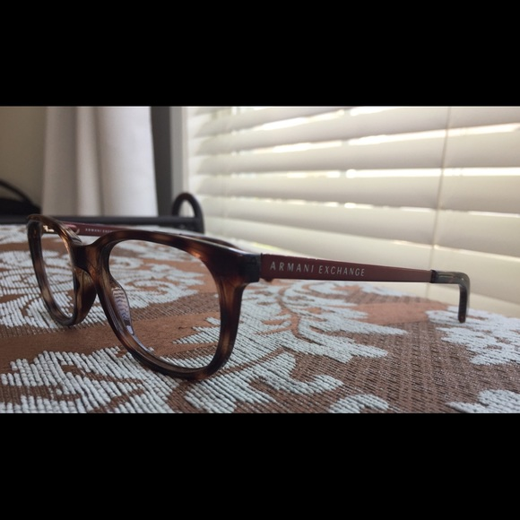 f2a4b357ecb7 A X Armani Exchange Accessories - Armani Exchange Glasses Frames Black Brown